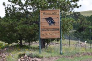 Mission;Wolfの看板